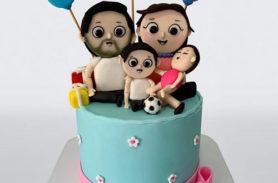 torta familia medellín dulcepastel.com