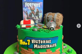 torta fortnite medellín dulcepastel.com