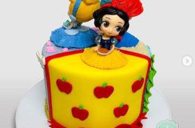 torta princesas disney medellín dulcepastel