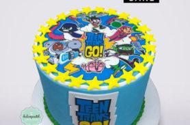 torta teen titans go medellin