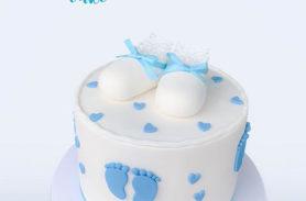 torta baby shower medellin dulcepastel