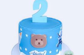 torta baby shower medellín