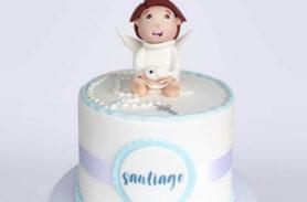 torta bautizo medellín dulcepastel