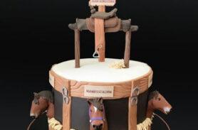 torta caballo medellín dulcepastel