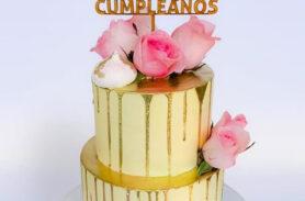 torta flores medellín dulcepastel