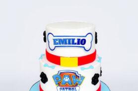 torta paw patrol medellín dulcepastel