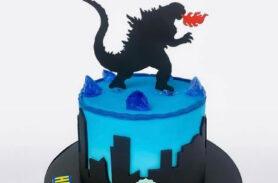 Torta Godzilla en Medellín realizada por Dulcepastel.com