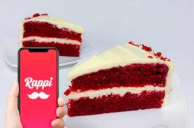 Torta Red Velvet Rappi Medellín